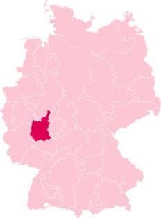 Bistum Limburg (Deutschlandkarte)