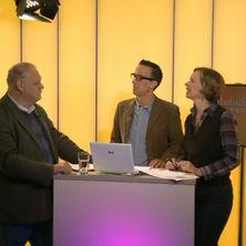 Georg Hupfauer mit den Moderatoren
